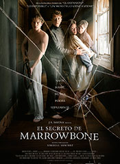 El secreto de Marrowbone - Cartel