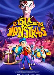 La Isla de los Monstruos - Cartel