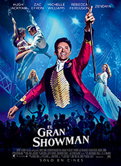 El gran showman - Cartel