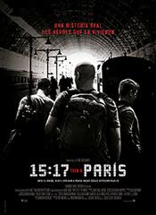 15:17 Tren a París - Cartel
