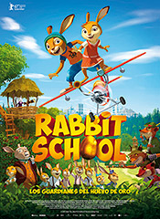 Rabbit School. Los guardianes del huevo de oro - Cartel