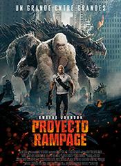 Proyecto Rampage - Cartel