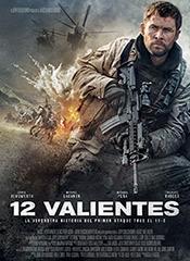 12 valientes - Cartel