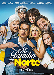 Mi familia del norte - Cartel