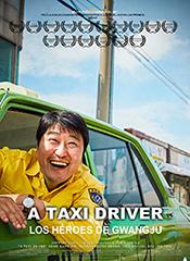 A Taxi Driver. Los héroes de Gwangju - Cartel