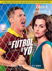 El Fútbol o yo - Cartel