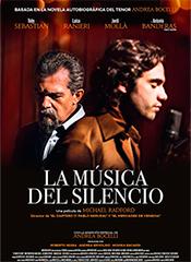 La música del silencio - Cartel