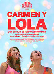 Carmen y Lola - Cartel
