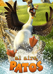 Al aire, patos - Cartel
