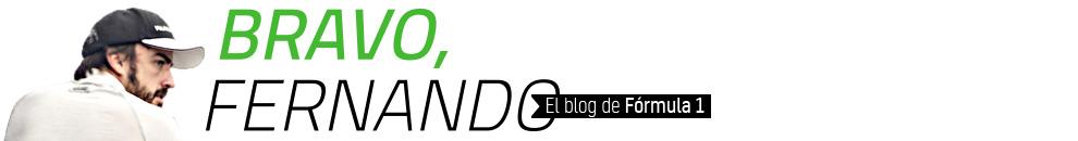 Bravo, Fernando – Fórmula 1 y Fernando Alonso