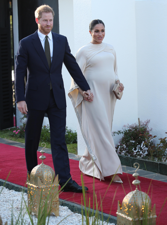 Meghan Markle y Harry en Rabat