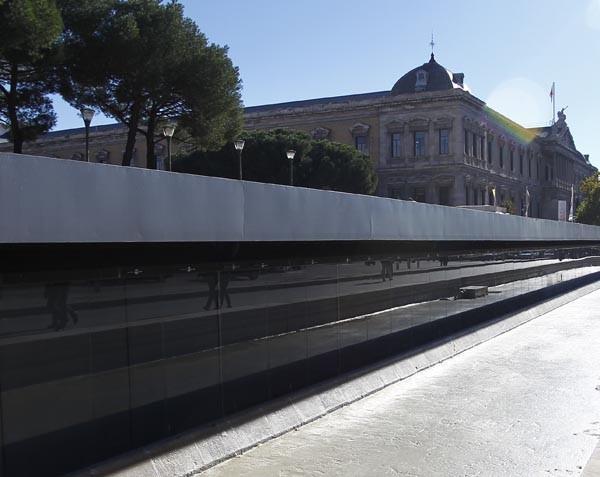 Estado de la Plaza de Colón en la actualidad
