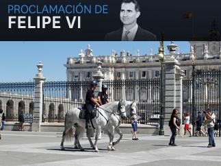 Proclamaci�n rey Felipe VI