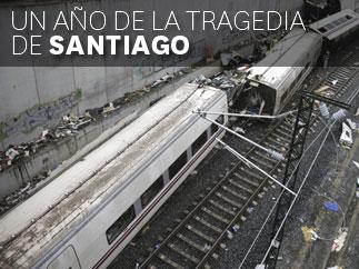 Un a�o de la tragedia de Santiago