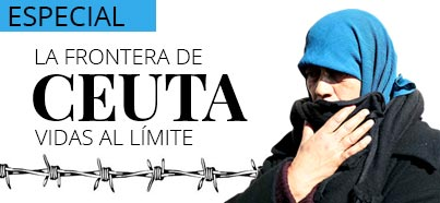 La frontera de Ceuta: vidas al límite