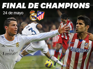 Especial Final Champions League 2014: Real Madrid - Atlético de Madrid