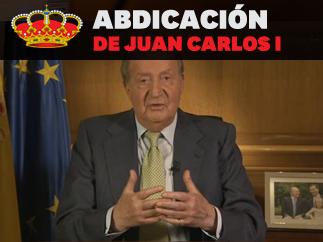 Abdicaci�n del rey Juan Carlos I