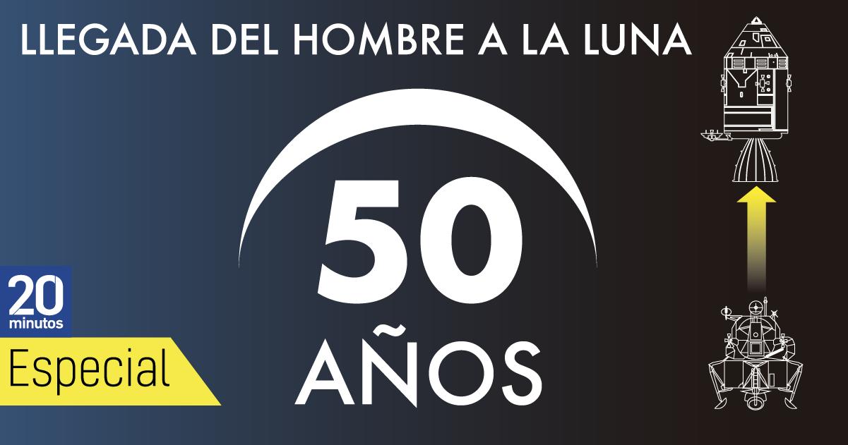 50 años de la llegada a la Luna