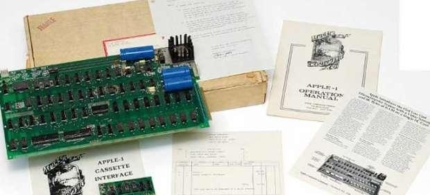 Pagan más de 156.000 euros por el primer ordenador de Apple