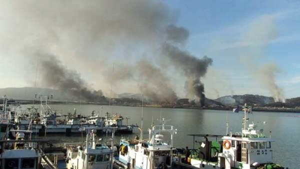 Disparos de artillería norcoreanos en la isla de Yeongpyeong
