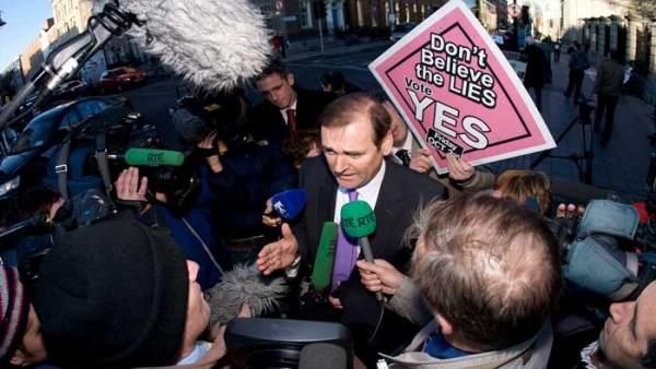 El parlamentario del partido Fianna Fail, Tom Kitt