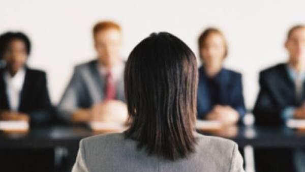 Una entrevista de trabajo