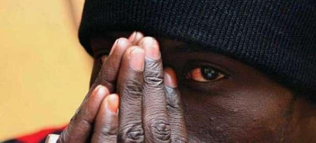 Un inmigrante africano