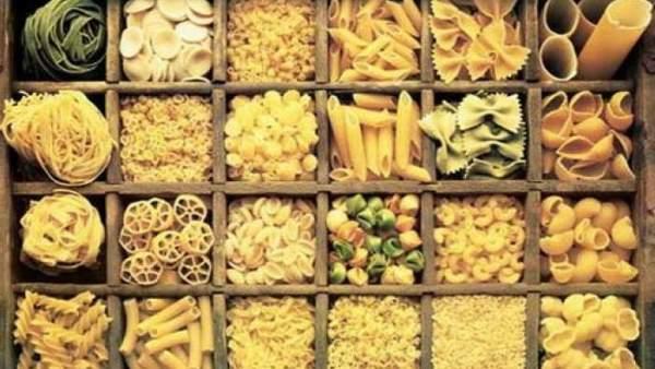 Variedades de pasta