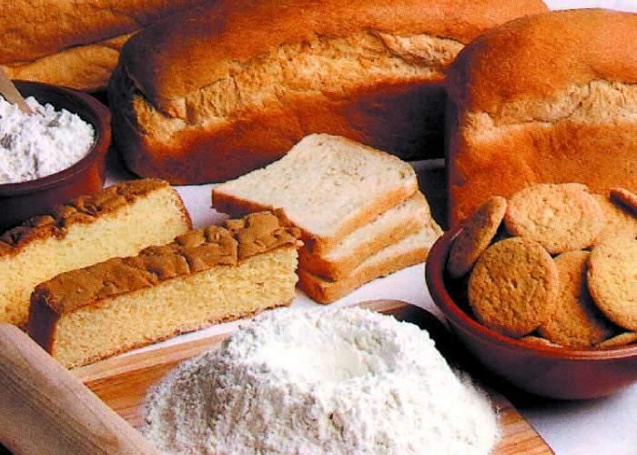 Resultado de imagen para derivados de la harina de trigo