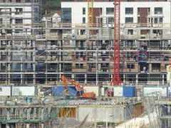 Los visados para construir pisos crecen un 28% hasta mayo