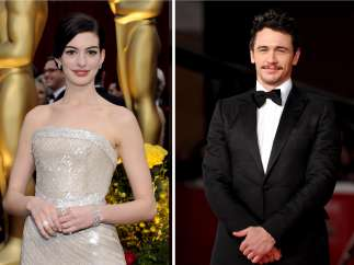 Anne Hathaway y James Franco
