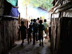 Niños en Kenia