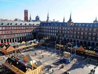 Mercadillo navideño de la Plaza Mayor