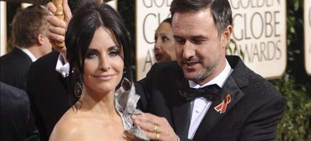 Courteney Cox y David Arquette.