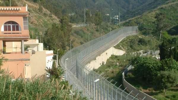 Perímetro fronterizo de Ceuta