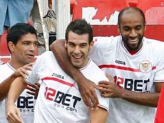 Renato, Negredo y Kanouté