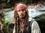 Johnny Depp, como capitán Jack Sparrow en 'Piratas del Caribe'