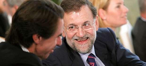 Aznar y Rajoy (ARCHIVO)