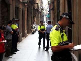 Mossos y Guardia Urbana