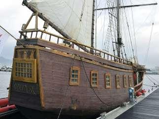 El barco de 'Piratas'