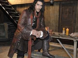 Óscar Jaenada en 'Piratas'