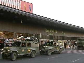 Vehículos militares
