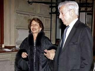 Mario Vargas Llosa y Patricia