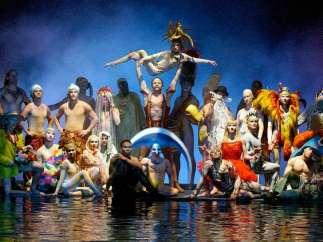 Cirque Du Soleil con James Cameron