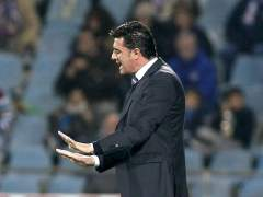 Míchel, entrenador