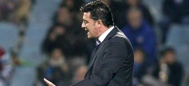Míchel, entrenador del Getafe