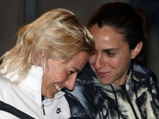 Marta Domínguez y Nuria Fernández