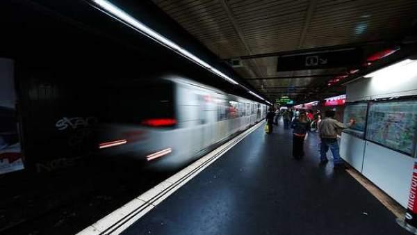 El metro de Barcelona,
