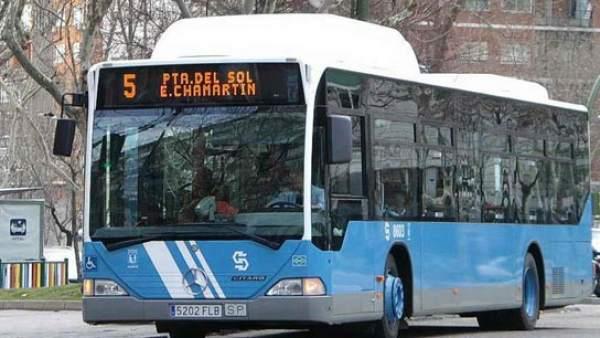 Autobús urbano de Madrid