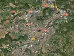 Mapa de Olot.